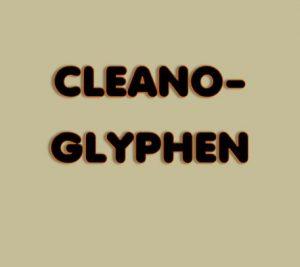 Cleanoglyphen