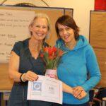 Sharon Small-Silvia Richter-Kaupp im Clean Language Seminar ASK DONT TELL